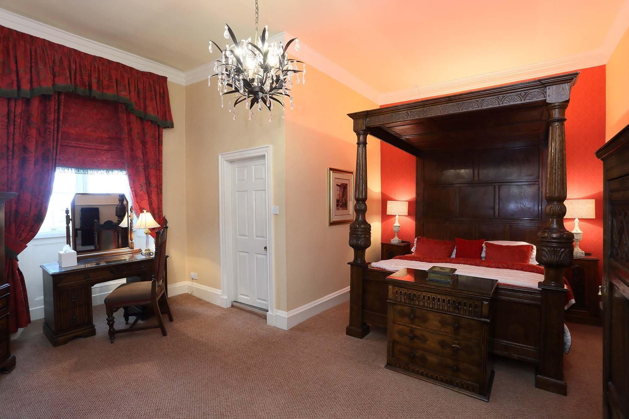 Yockleton Room, Rowton Castle Accommodation
